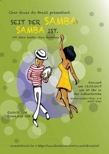 Flyer_Desde o samba e samba